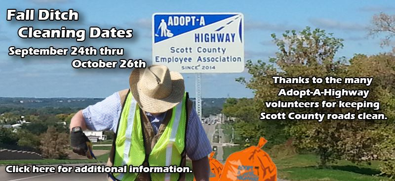 Adopt a Highway - Fall Cleanup Dates 2018