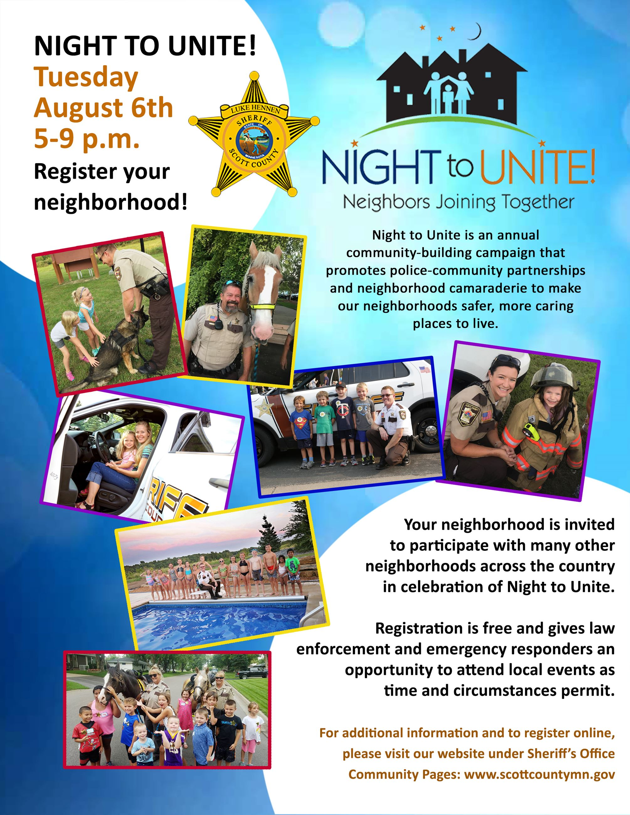 2019 Night to Unite Flyer