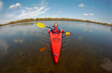 TR cleary lake kayaking