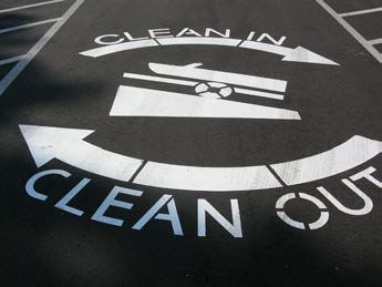 Clean In Clean Out: Photo by DNR