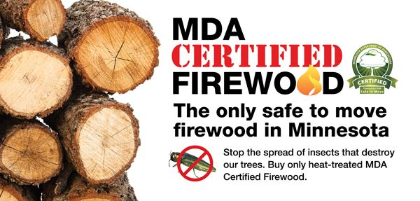 Certified Firewood: Photo by MDA