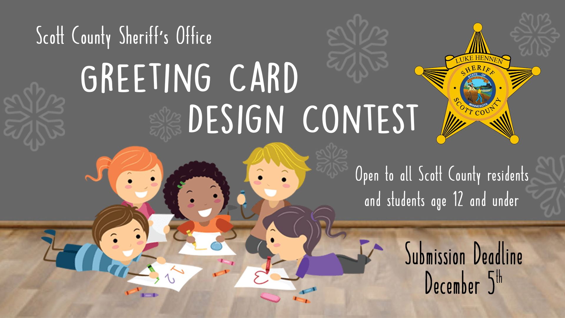 Scott county mn archived sheriffs office greeting card design contest m4hsunfo